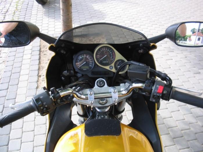 Yamaha Fazer zegary