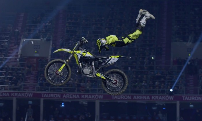 Diverse NIGHT of the JUMPs TAURON Arena Krakow 2017 Maikel Melero