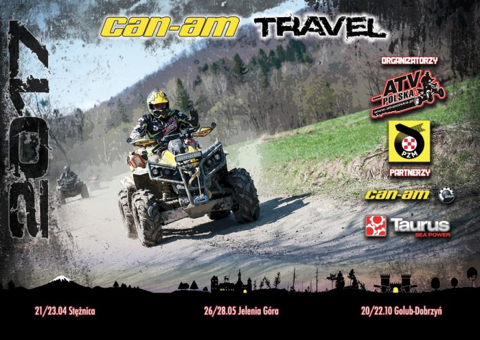 Can am Travel ATV Polska 2017