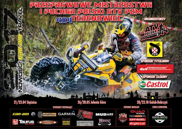 Przeprawowe Mistrzostwa i Puchar Polski ATV PZM 4x4 Terenowiec 2017
