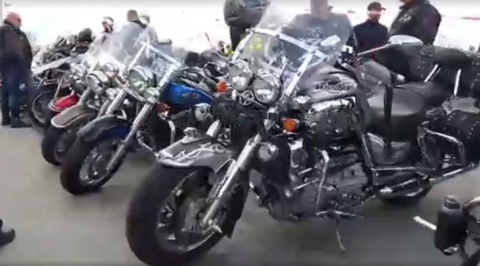 Rozpoczecie Sezonu Motocyklowego w Lodzi