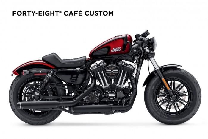 Harley Davidson Cafe Custom Foryty Eight