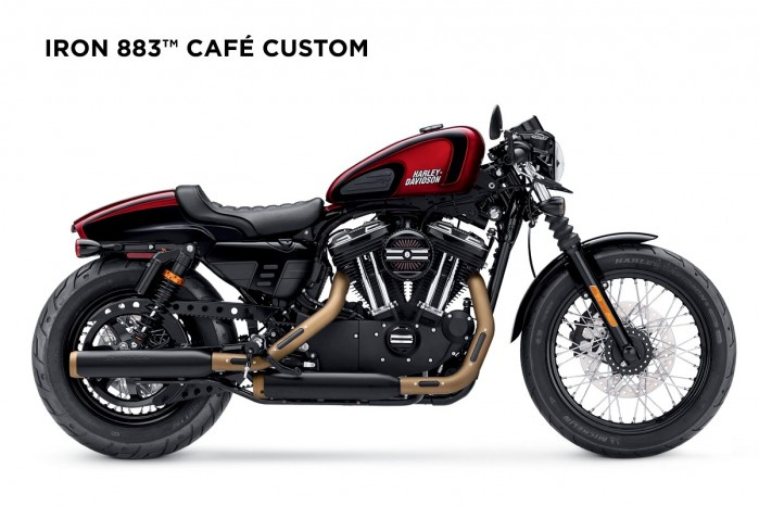 Harley Davidson Cafe Custom Iron 883