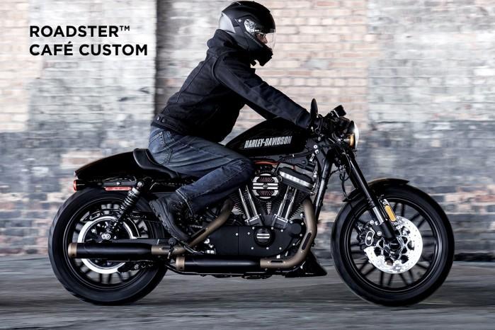 Harley Davidson Cafe Custom Roadster