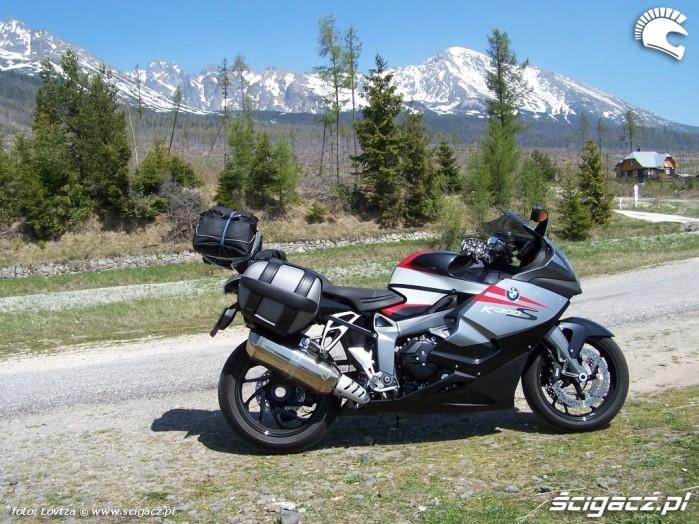 BMW K1300S Tatry
