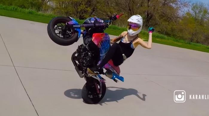 honda MSX 125 stunt