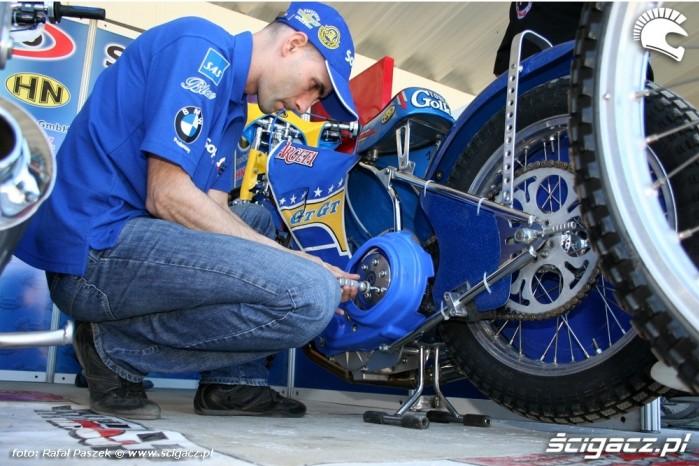 Tomasz Gollob motocykl