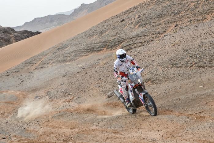 ORLENTeam Maciej Giemza Merzouga Rally Etap 4