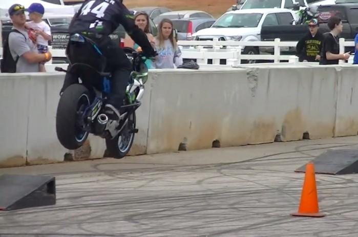 stunt skoki