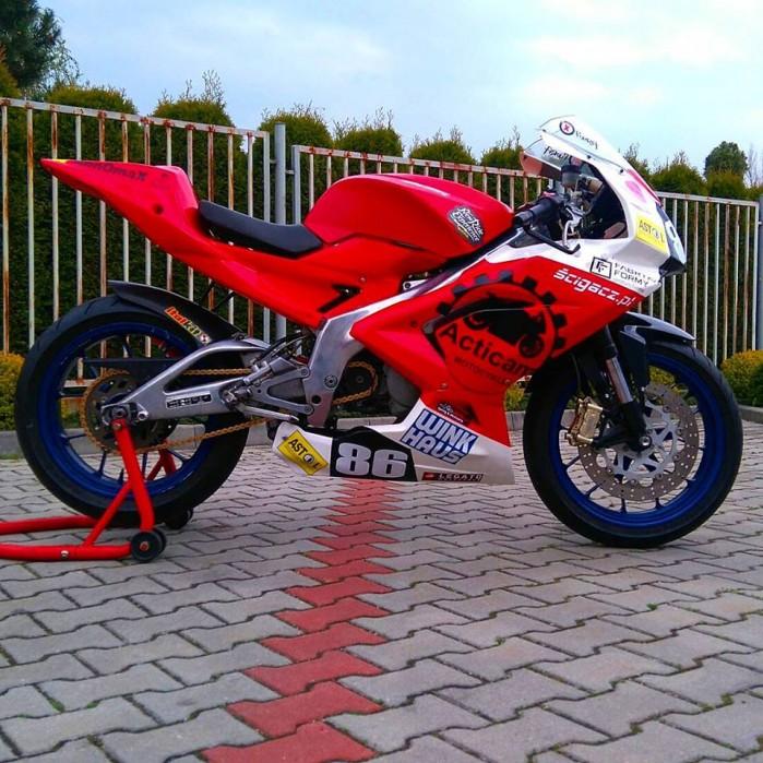 I rundy Pucharu Polski laczonych klas Open125 Moto3 Superstock 300 Classic 2017 01