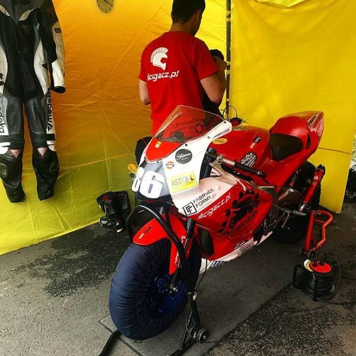 I rundy Pucharu Polski laczonych klas Open125 Moto3 Superstock 300 Classic 2017 07