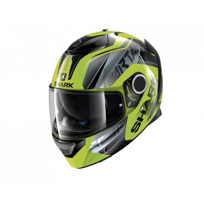 kask integralny shark spartan karken kolor multi zolty