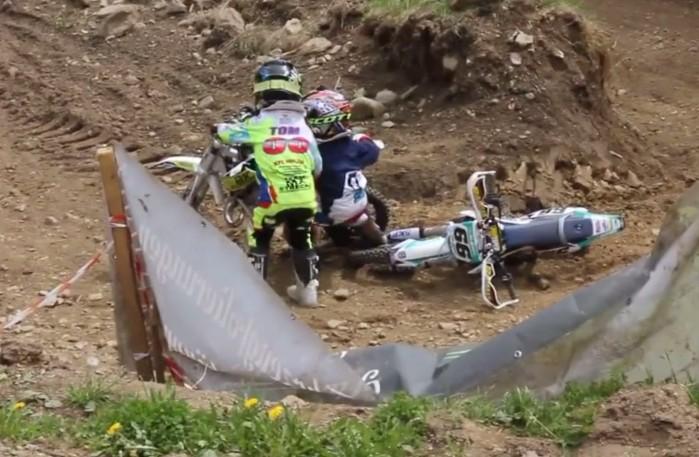 fair play na torze motocrossowym