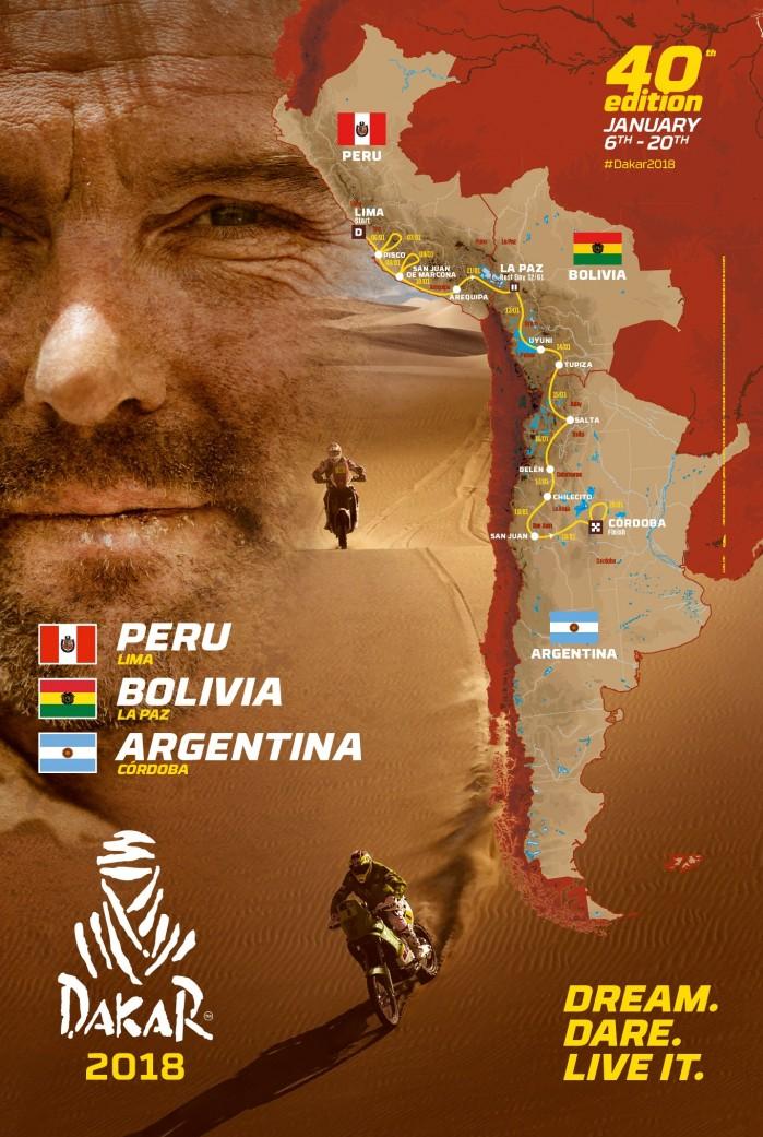 Rajd Dakar 2018 40 edycja