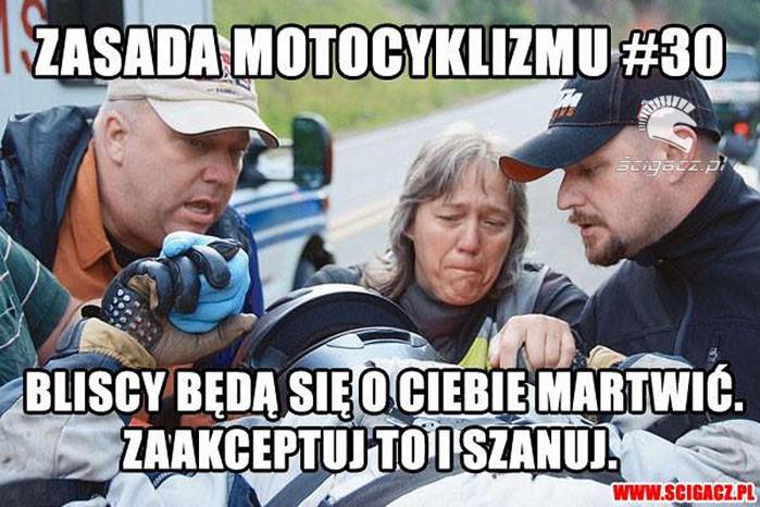 30 zasada motocyklizmu bliscy