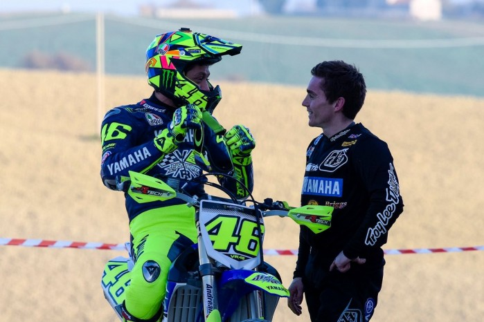 Valentino Rossi motocross