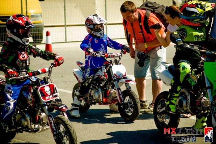 II runda Otwartych Mistrzostw pit bike w Bydgoszczy 2017 06