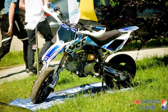II runda Otwartych Mistrzostw pit bike w Bydgoszczy 2017 08