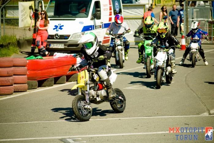 II runda Otwartych Mistrzostw pit bike w Bydgoszczy 2017 09