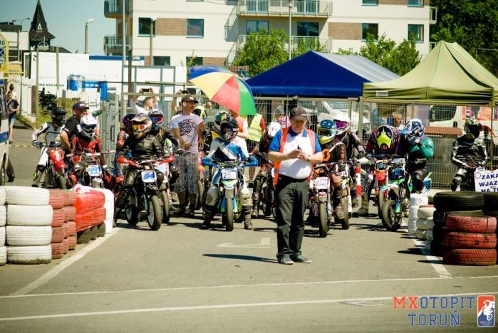 II runda Otwartych Mistrzostw pit bike w Bydgoszczy 2017 10