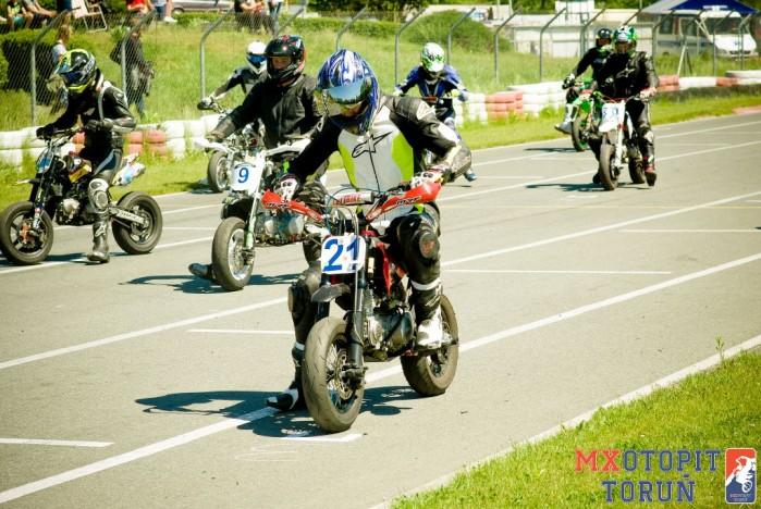 II runda Otwartych Mistrzostw pit bike w Bydgoszczy 2017 12