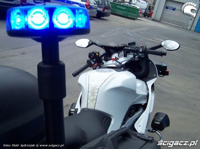 motocykl policyjny