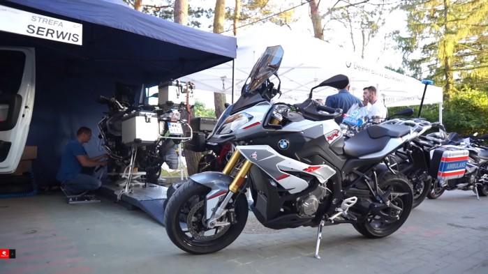 Dni BMW Motorrad Polska strefa serwis