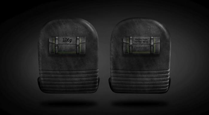 Carlex Design Fiat 126p tyl foteli