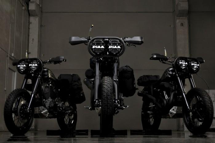 pustynne wilki Harley Davidson