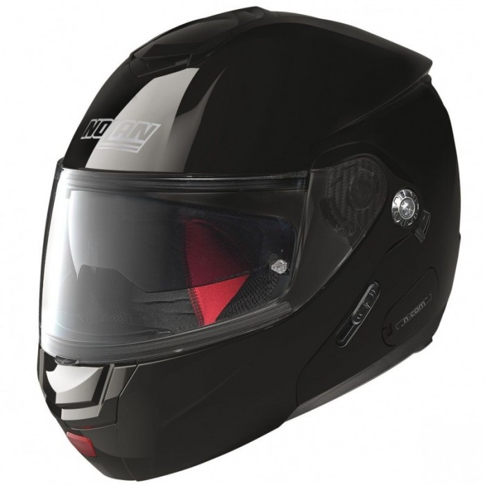 kask szczekowy nolan n902 classic n com 3 glossy black kolor czarny