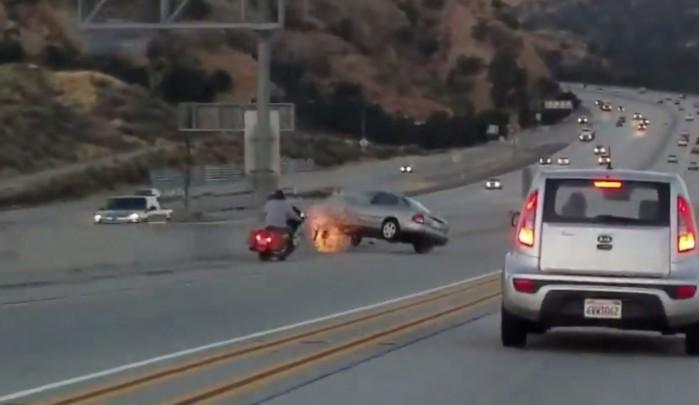 motocykl vs auto