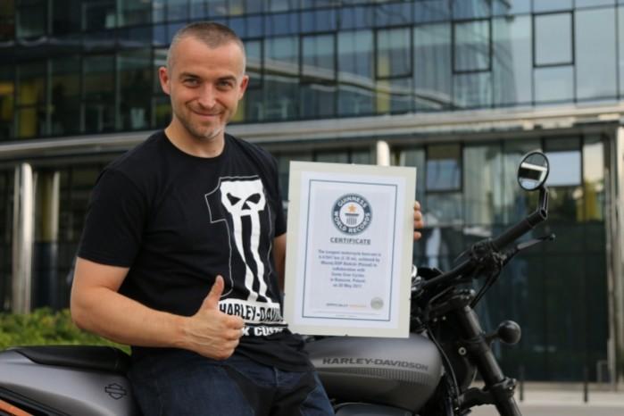 Maciej DOP Bielicki rekord Guinnessa 05