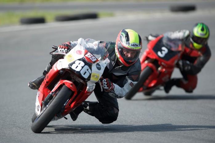 II runda Wyscigowego Motocyklowego Pucharu Polski motocykli malych pojemnosci 4