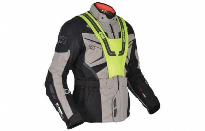 kurtka turystyczna oxford ankara 10 kolor czarny szary kamizelka fluorescencyjna