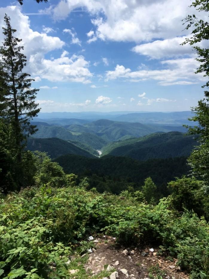 widok z trasy 75