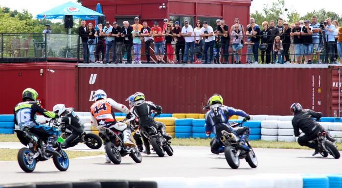 3 runda Pitbike pl Otwarte Mistrzostwa Wojewodztwa Kujawsko Pomorskiego Supermoto w Toruniu 03