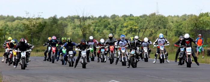 3 runda Pitbike pl Otwarte Mistrzostwa Wojewodztwa Kujawsko Pomorskiego Supermoto w Toruniu 04