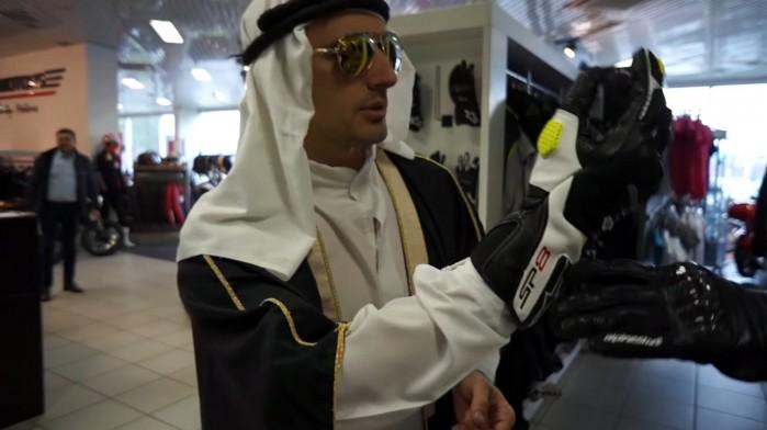 Szejk na zakupach w Inter motors