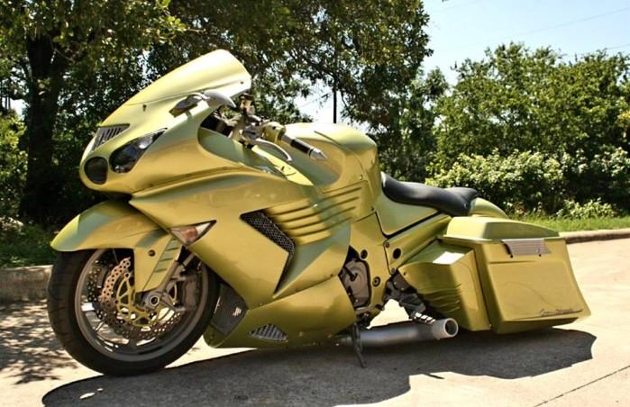ZZR1400 custom