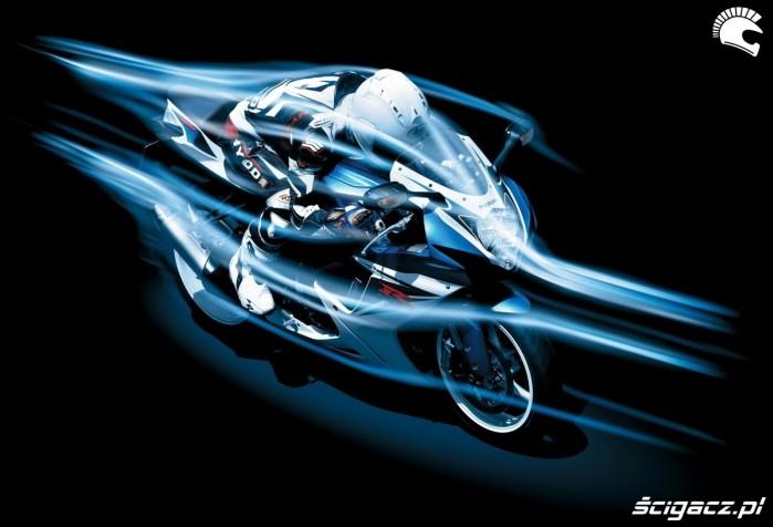 aerodynamika Suzuki GSX R 600