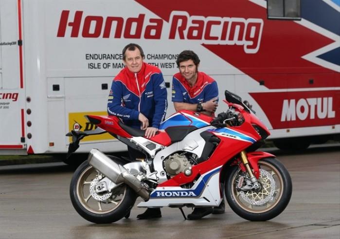 John McGuinness Guy Martin Honda CBR1000RR Fireblade SP2