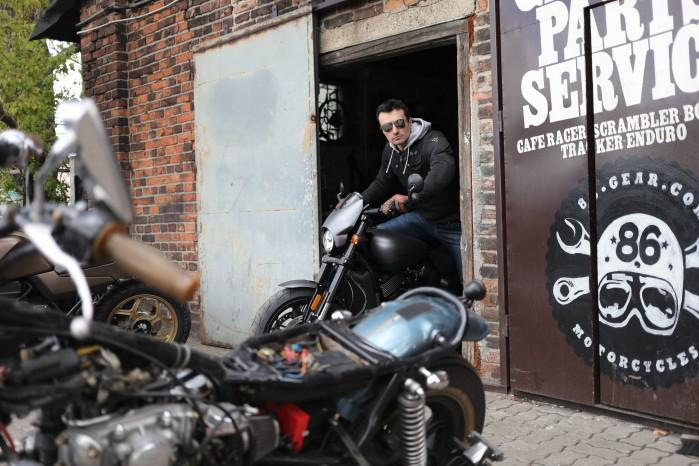 stylowka motocyklowa