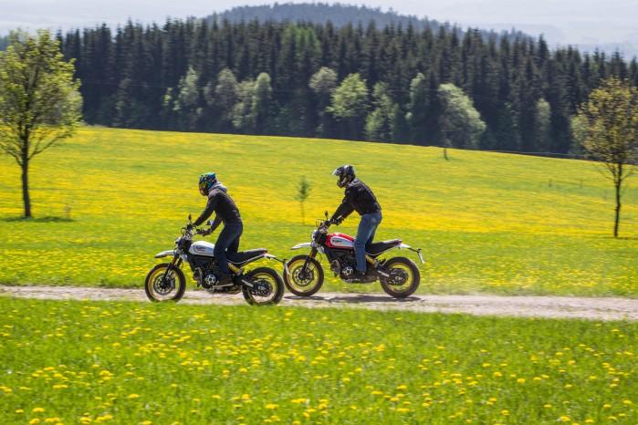 motocykle ducati sielanka