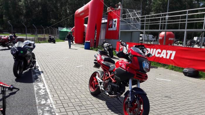 ducati red track