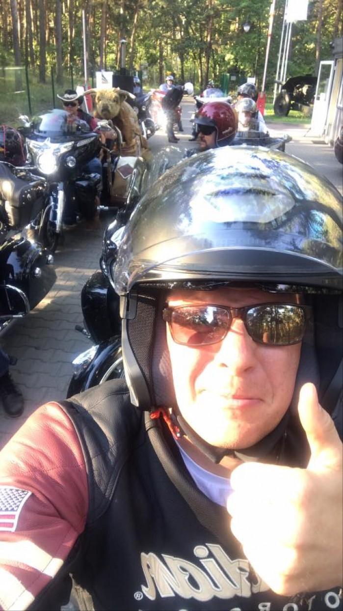 chajzer motocyklista
