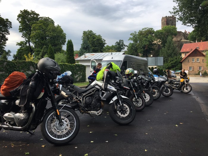 Triumph Ride Event 2017 w Karkonoszach 4