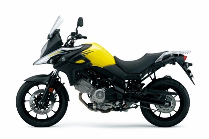 Suzuki DL650 V Strom 2017 lewy profil