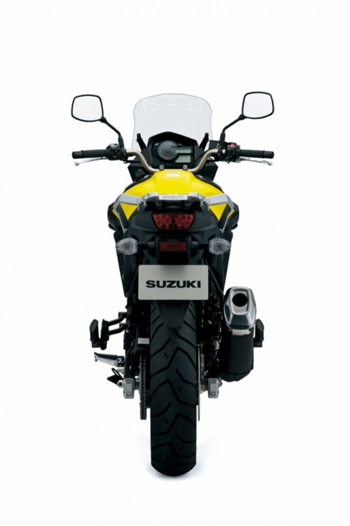 Suzuki DL650 V Strom 2017 tyl