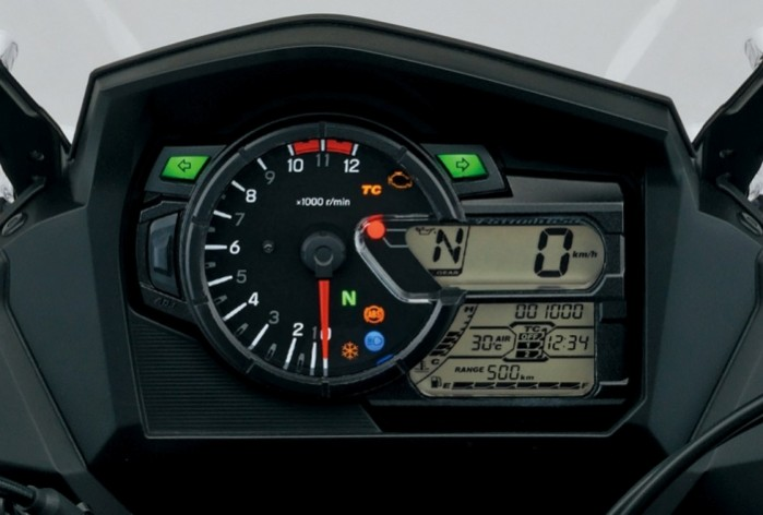 Suzuki DL650 V Strom 2017 zegary
