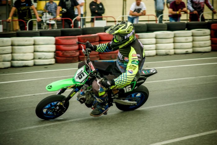 IV runda zawod lw supermoto Pit Bike 2017 04